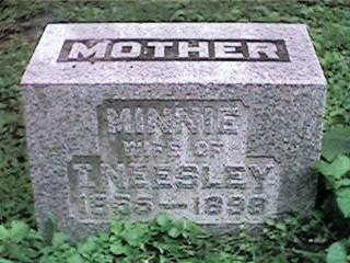 NEESLEY, MINNIE - Clinton County, Iowa   MINNIE NEESLEY