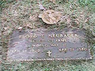 NEUBAUER, FLOYD T - Clinton County, Iowa | FLOYD T NEUBAUER