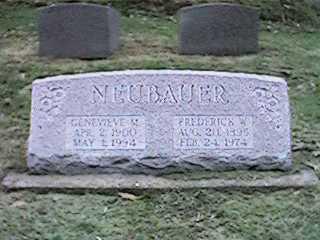 NEUBAUER, FREDERICK - Clinton County, Iowa | FREDERICK NEUBAUER