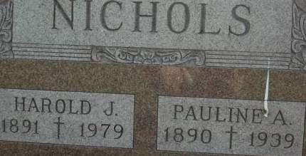 NICHOLS, PAULINE A. - Clinton County, Iowa | PAULINE A. NICHOLS