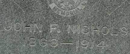NICHOLS, JOHN F. - Clinton County, Iowa | JOHN F. NICHOLS