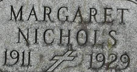 NICHOLS, MARGARET - Clinton County, Iowa   MARGARET NICHOLS