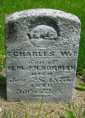 NORMAN, CHARLES W. - Clinton County, Iowa | CHARLES W. NORMAN