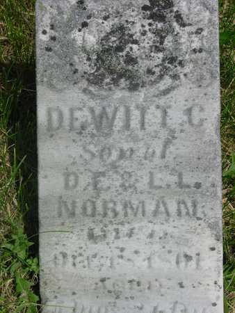 NORMAN, DEWITT C. - Clinton County, Iowa | DEWITT C. NORMAN