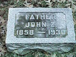 NYQUIST, JOHN Z - Clinton County, Iowa | JOHN Z NYQUIST