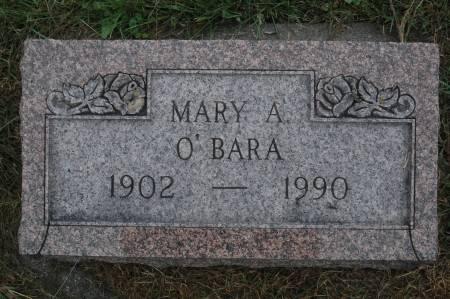 O'BARA, MARY A. - Clinton County, Iowa | MARY A. O'BARA
