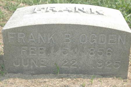 ODGEN, FRANK B. - Clinton County, Iowa   FRANK B. ODGEN