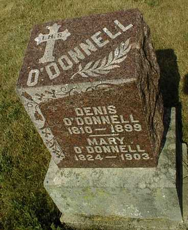 O'DONNELL, MARY - Clinton County, Iowa | MARY O'DONNELL