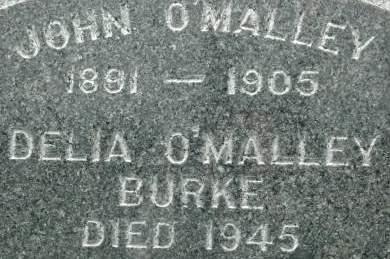 O'MALLEY BURKE, DELIA - Clinton County, Iowa | DELIA O'MALLEY BURKE