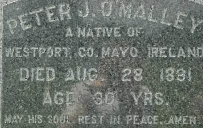 O'MALLEY, PETER J. - Clinton County, Iowa | PETER J. O'MALLEY