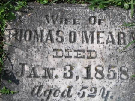 O'MEARA, ELIZABETH - Clinton County, Iowa | ELIZABETH O'MEARA
