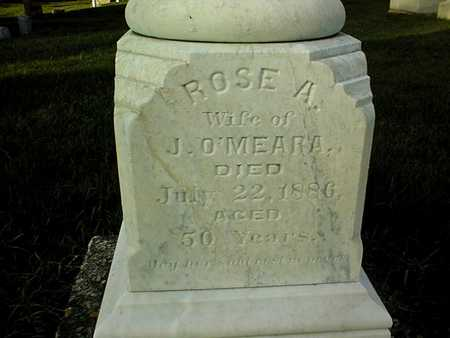O'MEARA, ROSE A. - Clinton County, Iowa   ROSE A. O'MEARA