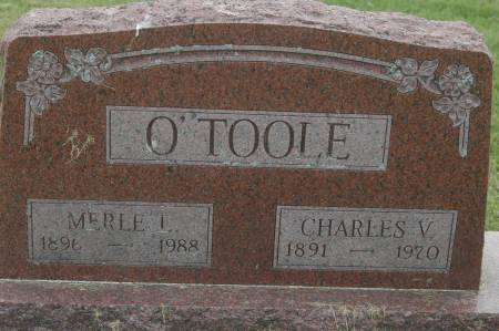 O'TOOLE, CHARLES V. - Clinton County, Iowa | CHARLES V. O'TOOLE