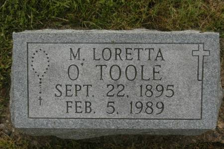 O'TOOLE, M. LORETTA - Clinton County, Iowa | M. LORETTA O'TOOLE