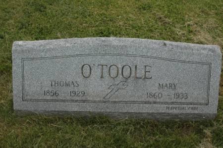 O'TOOLE, THOMAS - Clinton County, Iowa | THOMAS O'TOOLE