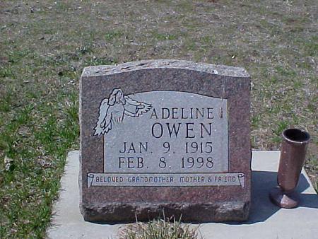 FLACK OWEN, ADELINE - Clinton County, Iowa | ADELINE FLACK OWEN