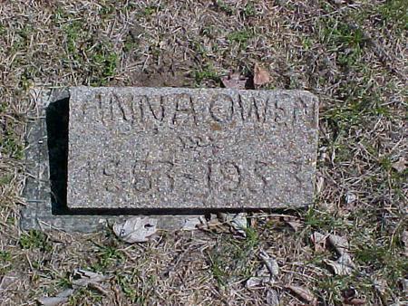 OWEN, ANNA - Clinton County, Iowa   ANNA OWEN