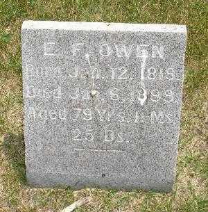 OWEN, E. F. - Clinton County, Iowa | E. F. OWEN