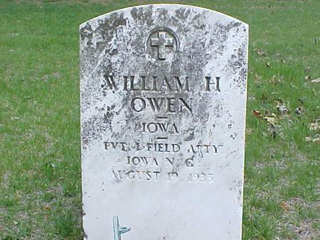OWEN, WILLIAM H. - Clinton County, Iowa | WILLIAM H. OWEN