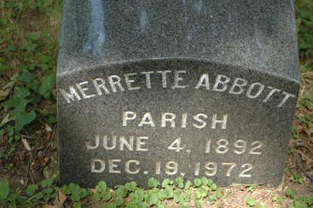 PARISH, MERRETTE - Clinton County, Iowa | MERRETTE PARISH