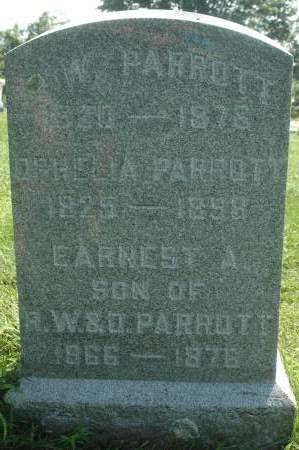 PARROTT, A.W. - Clinton County, Iowa | A.W. PARROTT