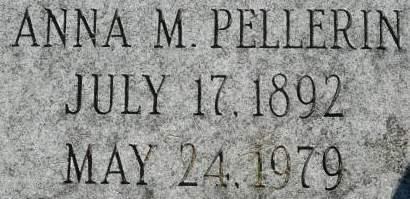 PELLERIN, ANNA M. - Clinton County, Iowa | ANNA M. PELLERIN