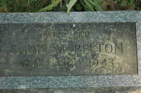 PELTON, SADIE M. - Clinton County, Iowa | SADIE M. PELTON