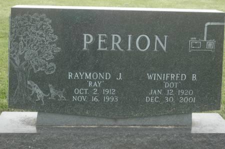 PERION, WINIFRED B. - Clinton County, Iowa | WINIFRED B. PERION