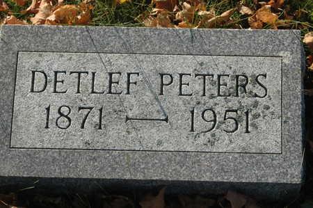 PETERS, DETLEF - Clinton County, Iowa | DETLEF PETERS