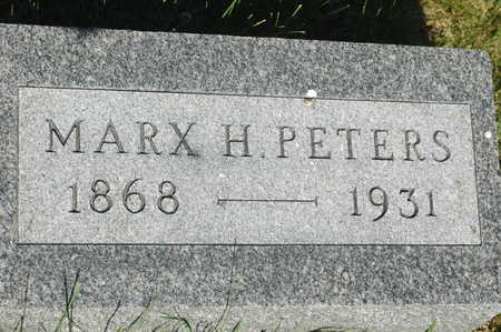 PETERS, MARX H. - Clinton County, Iowa | MARX H. PETERS