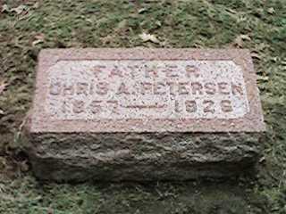 PETERSEN, CHRIS A - Clinton County, Iowa | CHRIS A PETERSEN