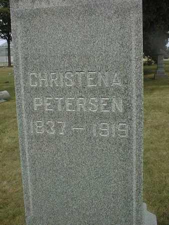 PETERSEN, CHRISTENA - Clinton County, Iowa | CHRISTENA PETERSEN