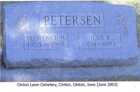 PETERSEN, JENS B. - Clinton County, Iowa | JENS B. PETERSEN