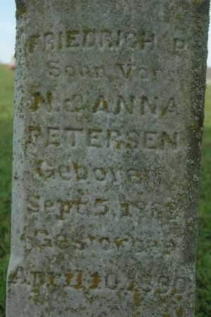 PETERSEN, FRIEDRICH P. - Clinton County, Iowa | FRIEDRICH P. PETERSEN