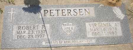 PETERSEN, VIRGINIA A. - Clinton County, Iowa | VIRGINIA A. PETERSEN