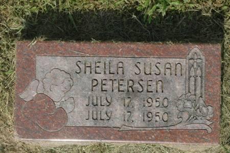 PETERSEN, SHEILA SUSAN - Clinton County, Iowa   SHEILA SUSAN PETERSEN