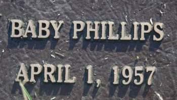 PHILLIPS, BABY - Clinton County, Iowa | BABY PHILLIPS