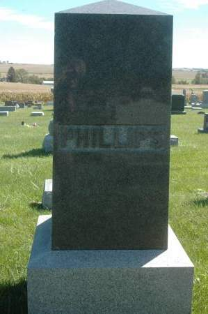 PHILLIPS, FAMILY MONUMENT - Clinton County, Iowa | FAMILY MONUMENT PHILLIPS