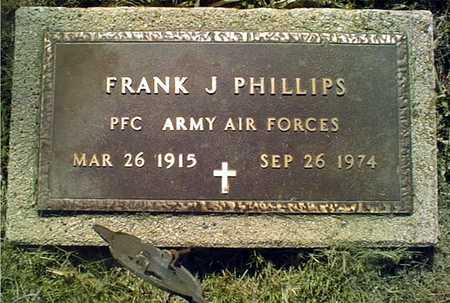PHILLIPS, FRANK J. - Clinton County, Iowa | FRANK J. PHILLIPS