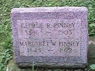PINNEY, GEORGE R - Clinton County, Iowa | GEORGE R PINNEY