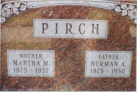PIRCH, MARTHA M. - Clinton County, Iowa | MARTHA M. PIRCH