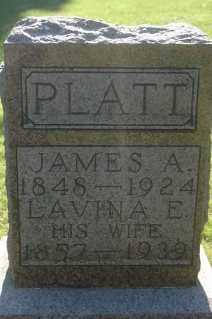 PLATT, LAVINA E. - Clinton County, Iowa | LAVINA E. PLATT