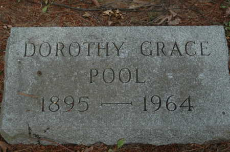 POOL, DOROTHY GRACE - Clinton County, Iowa | DOROTHY GRACE POOL