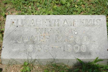 BEMIS POOL, ELIZABETH A. - Clinton County, Iowa | ELIZABETH A. BEMIS POOL