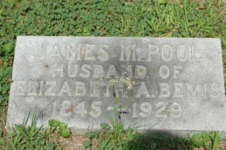 POOL, JAMES M. - Clinton County, Iowa | JAMES M. POOL