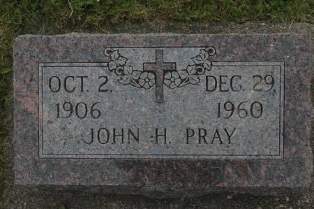 PRAY, JOHN H. - Clinton County, Iowa | JOHN H. PRAY
