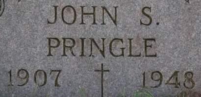 PRINGLE, JOHN S. - Clinton County, Iowa | JOHN S. PRINGLE