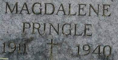 PRINGLE, MAGDALENE - Clinton County, Iowa | MAGDALENE PRINGLE