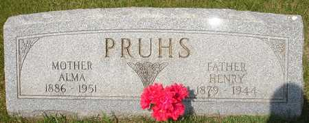 PRUHS, HENRY - Clinton County, Iowa | HENRY PRUHS