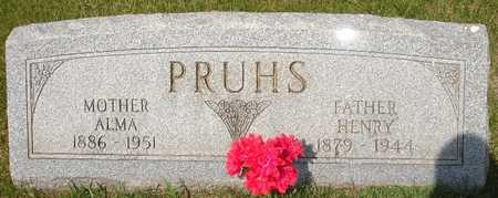 PRUHS, ALMA - Clinton County, Iowa | ALMA PRUHS